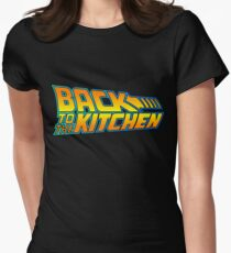 Back to the Kitchen Womens Fitted T-Shirt