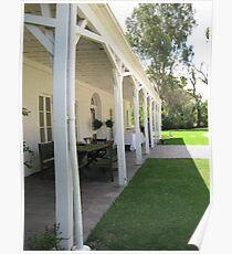 The verandah perspective Poster