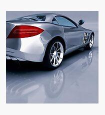 Mercedes 3D Render Photographic Print