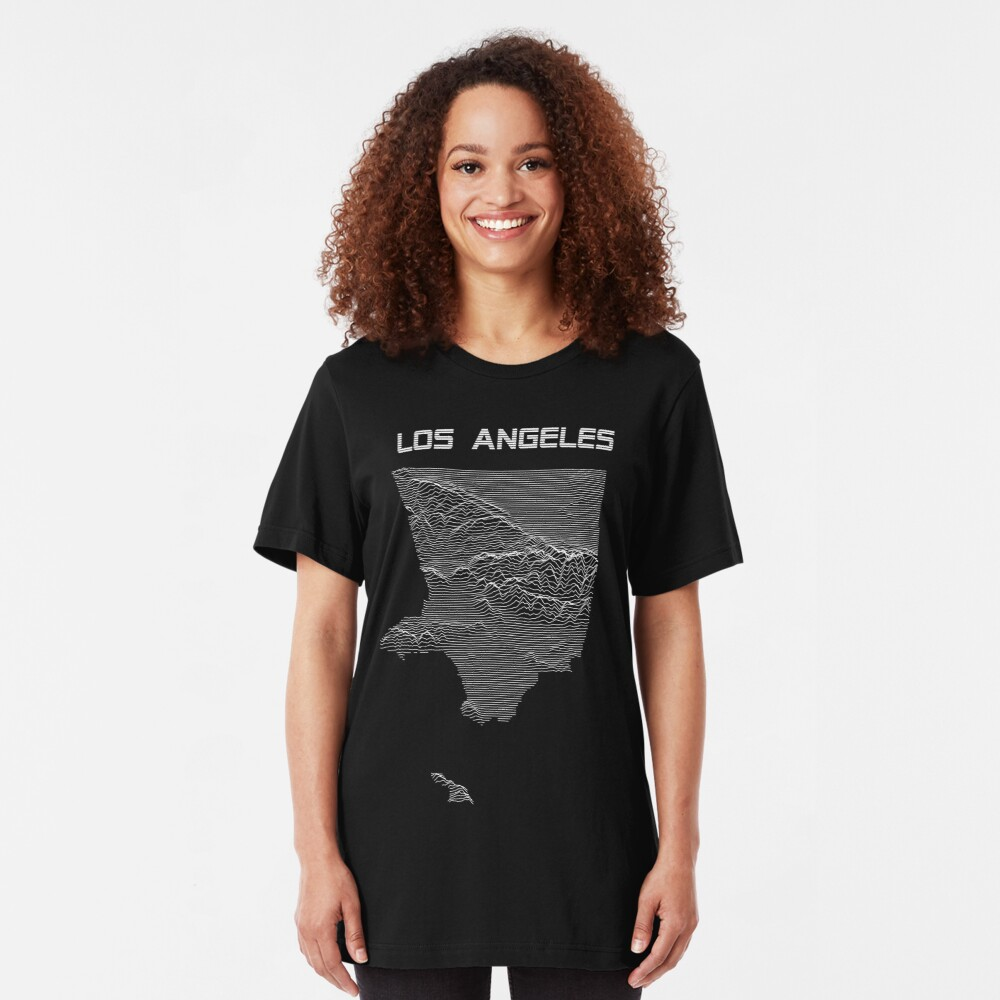 Unknown Elevations - Los Angeles Slim Fit T-Shirt