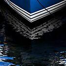 Blue Boat by Sandra Guzman