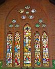 Altar window, Christ Church Cathedral, Grafton, Nsw, Australia by Margaret  Hyde