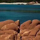 Red Rocks in blue sea! by Alessandra Antonini