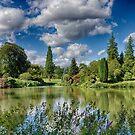 An English Country Garden by Ruski