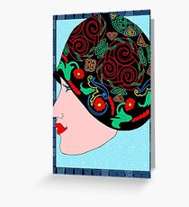 Busy Celtic Mind Greeting Card