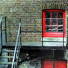 Red Window - Greenwich Royal Observatory by Victoria limerick