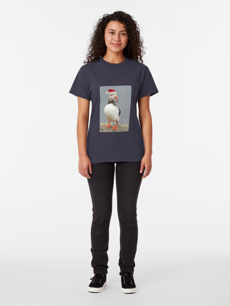 Alternate view of Holiday Puffin Classic T-Shirt