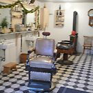 MCKAY BARBER SHOP FROM THE EARLY 1900S by DIANEPEAREN