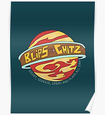 Blips and Chitz Poster