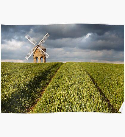 Chesterton Windmill Poster
