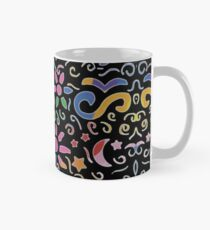 Summer Vibes | Fun Groovy Flowers and Butterflies Classic Mug