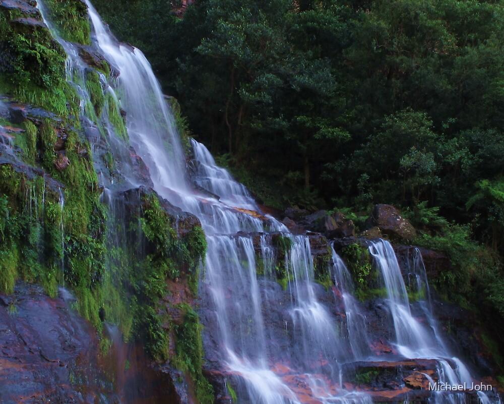 Katoomba Falls by Michael John
