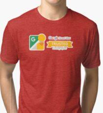 Google Maps | Street View | Trusted Photographer Tri-blend T-Shirt