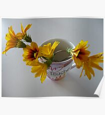 Flowers for the Teacher Poster