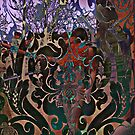 """""""Psychedelic Maiden of London"""" by David  Perea"""