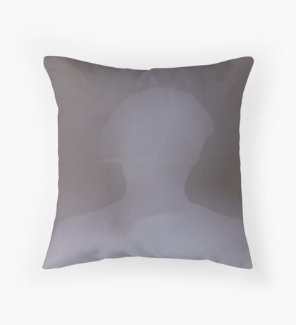 Mobster Shadow Throw Pillow