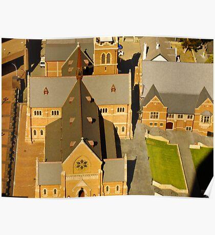 St georges Church - Perth, Western Australia Poster