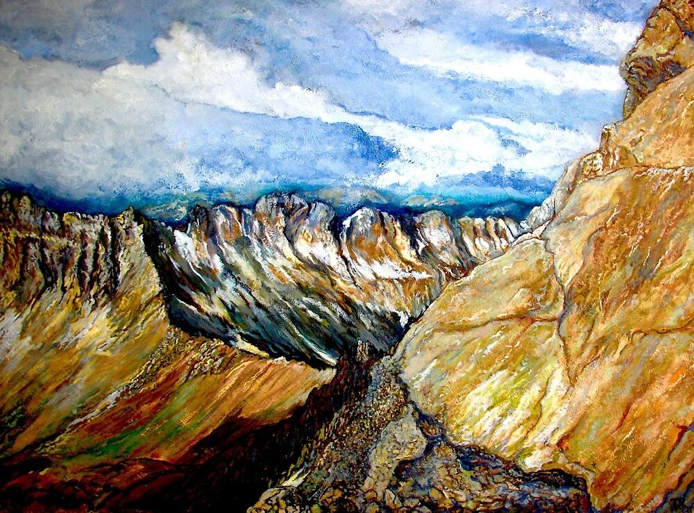Mount Sneffels by Tom Roderick