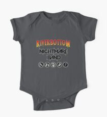 Riverbottom Nightmare Band Short Sleeve Baby One-Piece