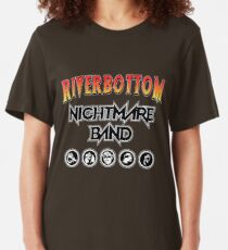 Riverbottom Nightmare Band Slim Fit T-Shirt