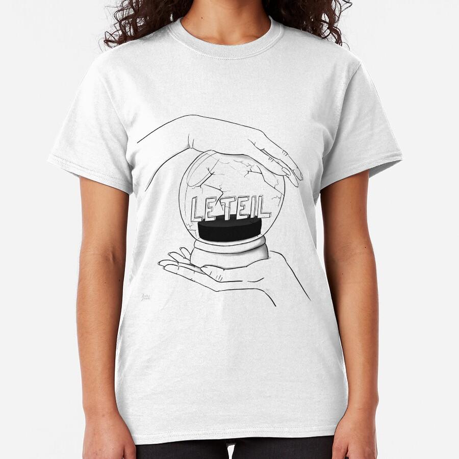 Solidarité à la ville du Teil T-shirt classique