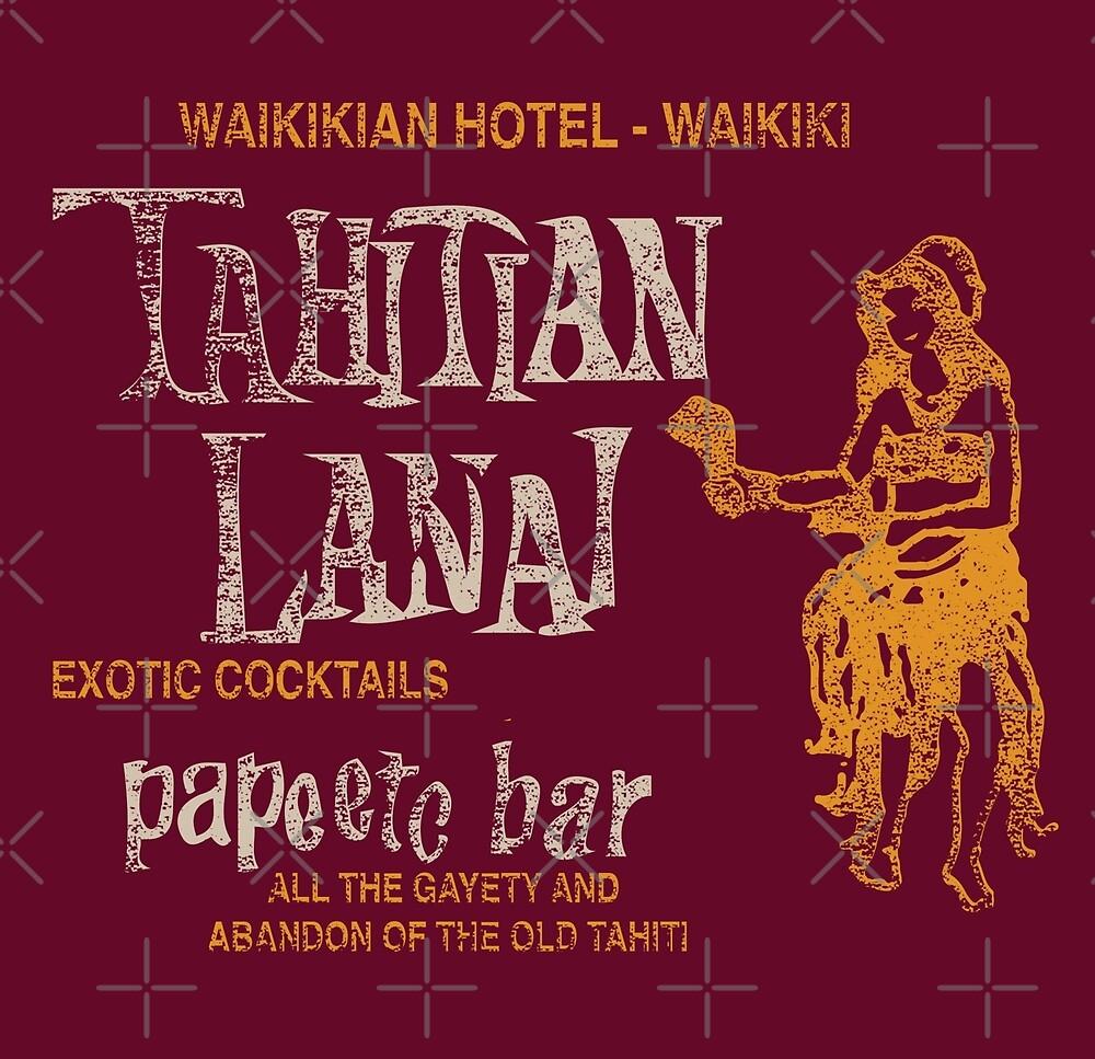 Tahitian Lanai - Waikiki, Hawaii by RetroTikiBar