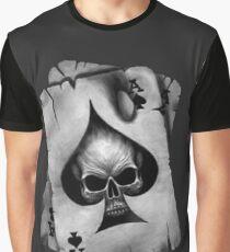 Ace of Skulls  Graphic T-Shirt