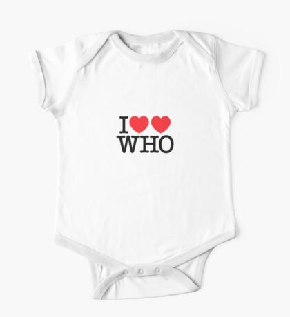 I ♥♥ WHO (light) Kids Clothes
