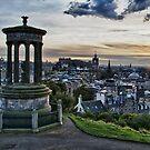 Edinburgh Skyline  by tayforth