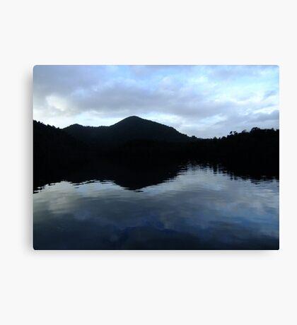 Gordon River reflection Canvas Print