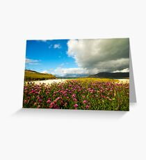 Flower before the Storm Greeting Card