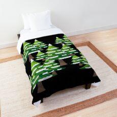 Pines Emoji JoyPixels Winter Days Comforter