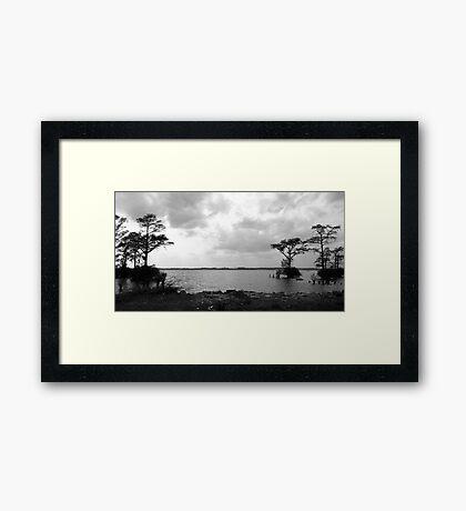 White's Landing Framed Print