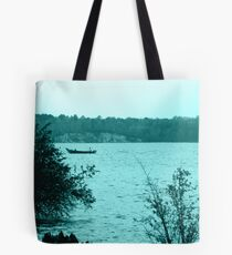 Fishing on the River Tote Bag