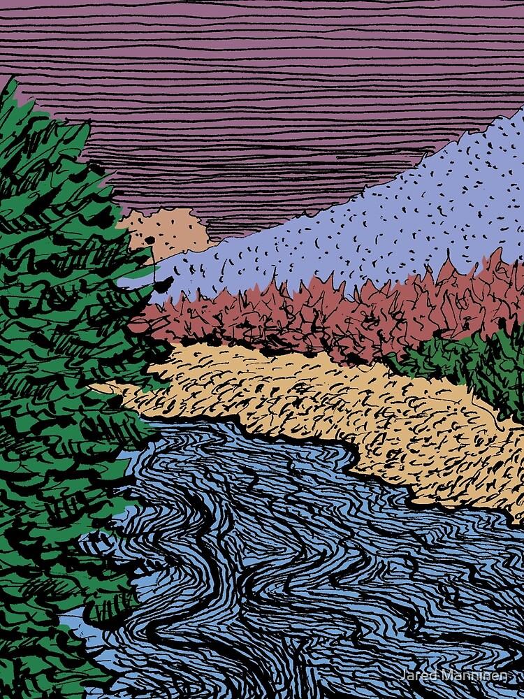 Upper Truckee River by JaredManninen