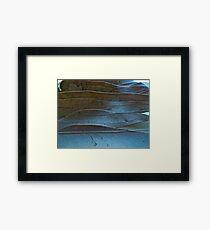 Leaves of steel Framed Print