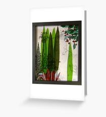 Doreanthes and Syzygium Greeting Card