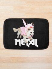 Nicht nur für Ostern perfekt- Lustiges Metal Chihuahua Hasen Design - Glaube und Wahrheit Badematte