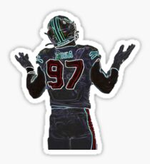 Neon Nick Bosa 49ers  Sticker