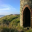 Look out tower. Cahore Point, Wexford by Roisin Cooke