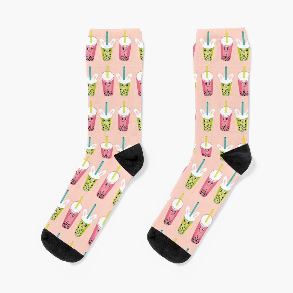 Boba / Bubble Tea / Pearl Milk Tea Socks