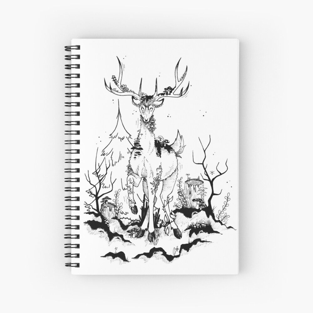 Muscim Spiral Notebook