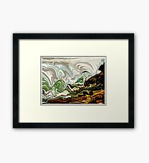 The First Wave Framed Print
