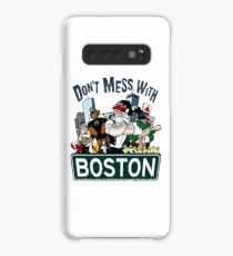 Don't Mess With Boston  Case/Skin for Samsung Galaxy