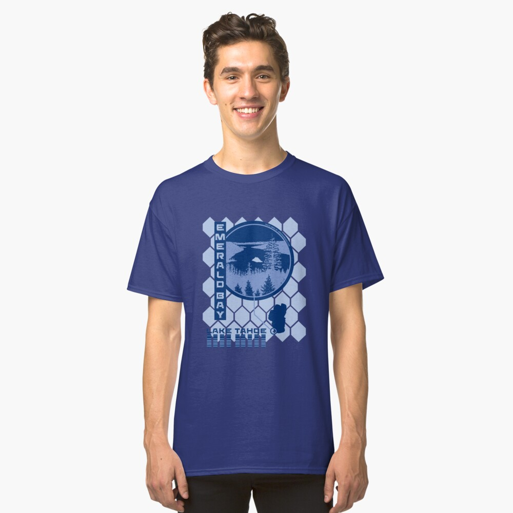 Emerald Bay (Through the Looking Glass) Classic T-Shirt