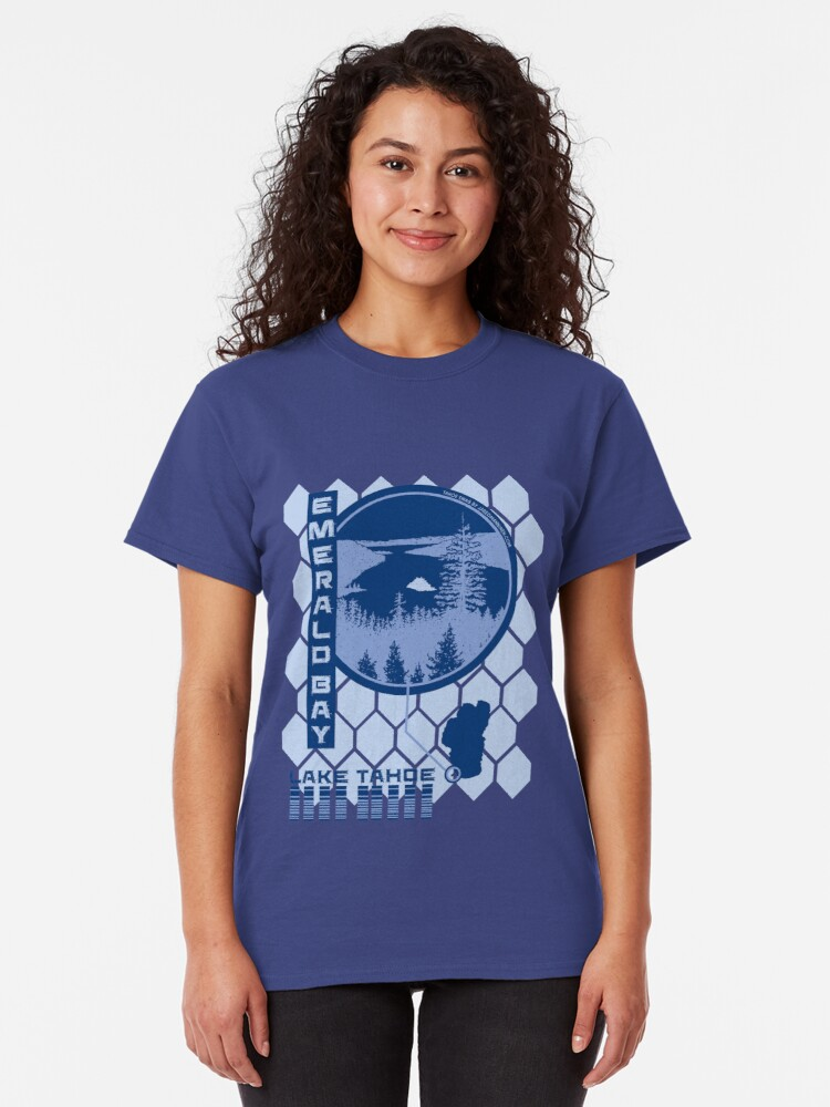 Alternate view of Emerald Bay (Through the Looking Glass) Classic T-Shirt