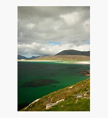 White sands Green Water Photographic Print