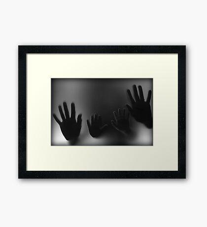 When I'm all grow'd up. Framed Print