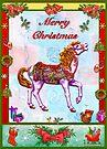 CAROUSEL HORSE CHRISTMAS by Judy Mastrangelo