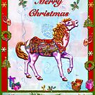 CAROUSEL HORSE CHRISTMAS by Judy Mastrangelo